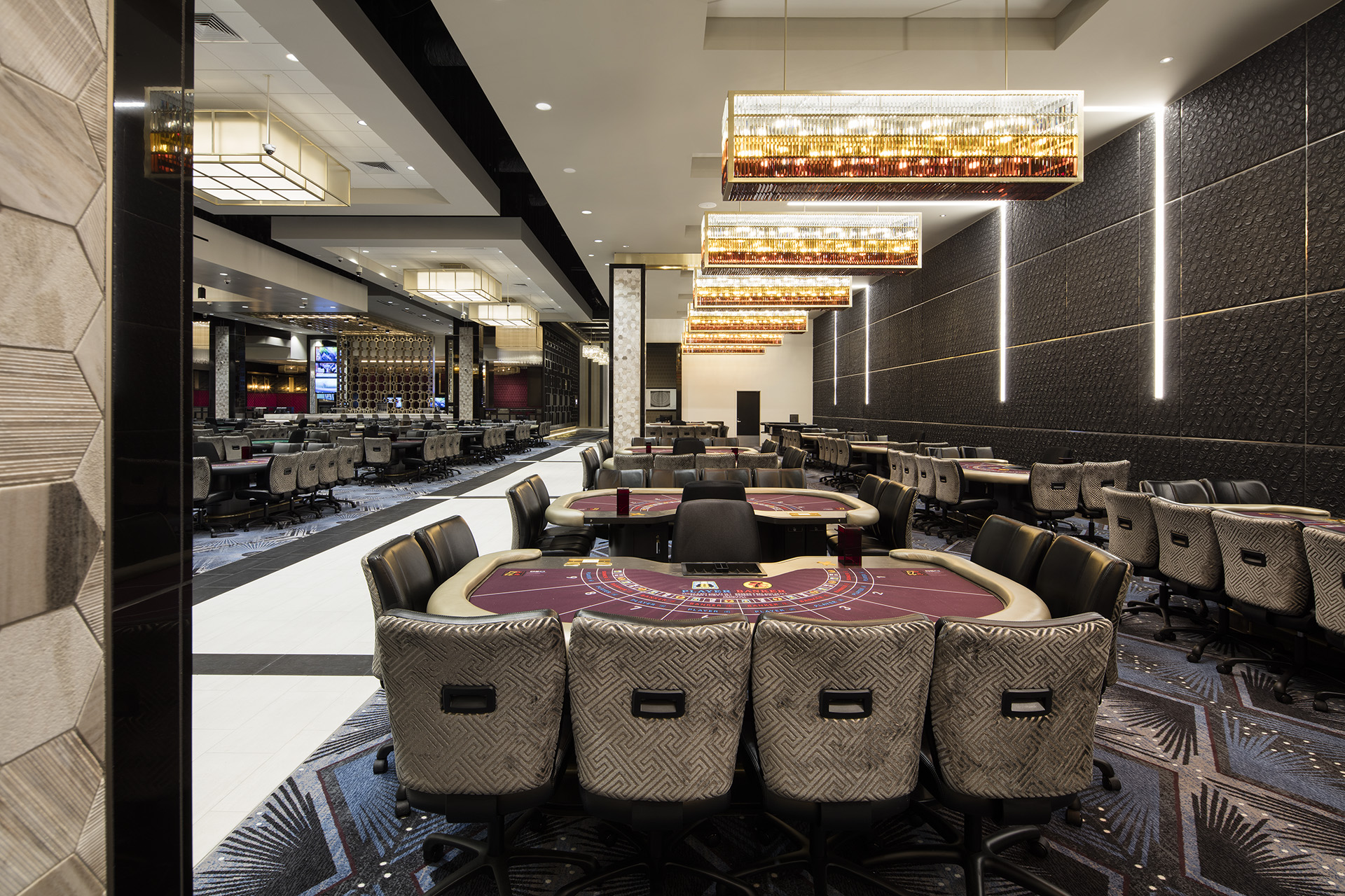 Hollywood Park Casino - Product Shown: Stacy Garcia Speakeasy Collection for Brintons