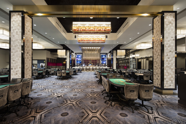 Hollywood Park Casino - Product Shown: Stacy Garcia Speakeasy Collection for Brintons - Photo by Misha Bruk of Bruk studios