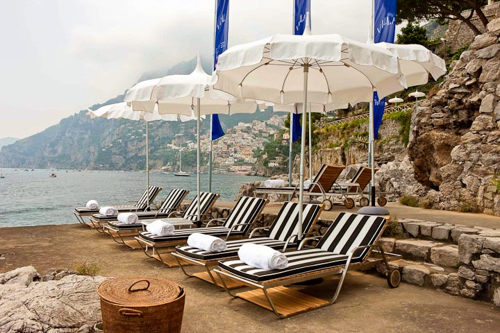 Relax along the waterfront of the Treville resort