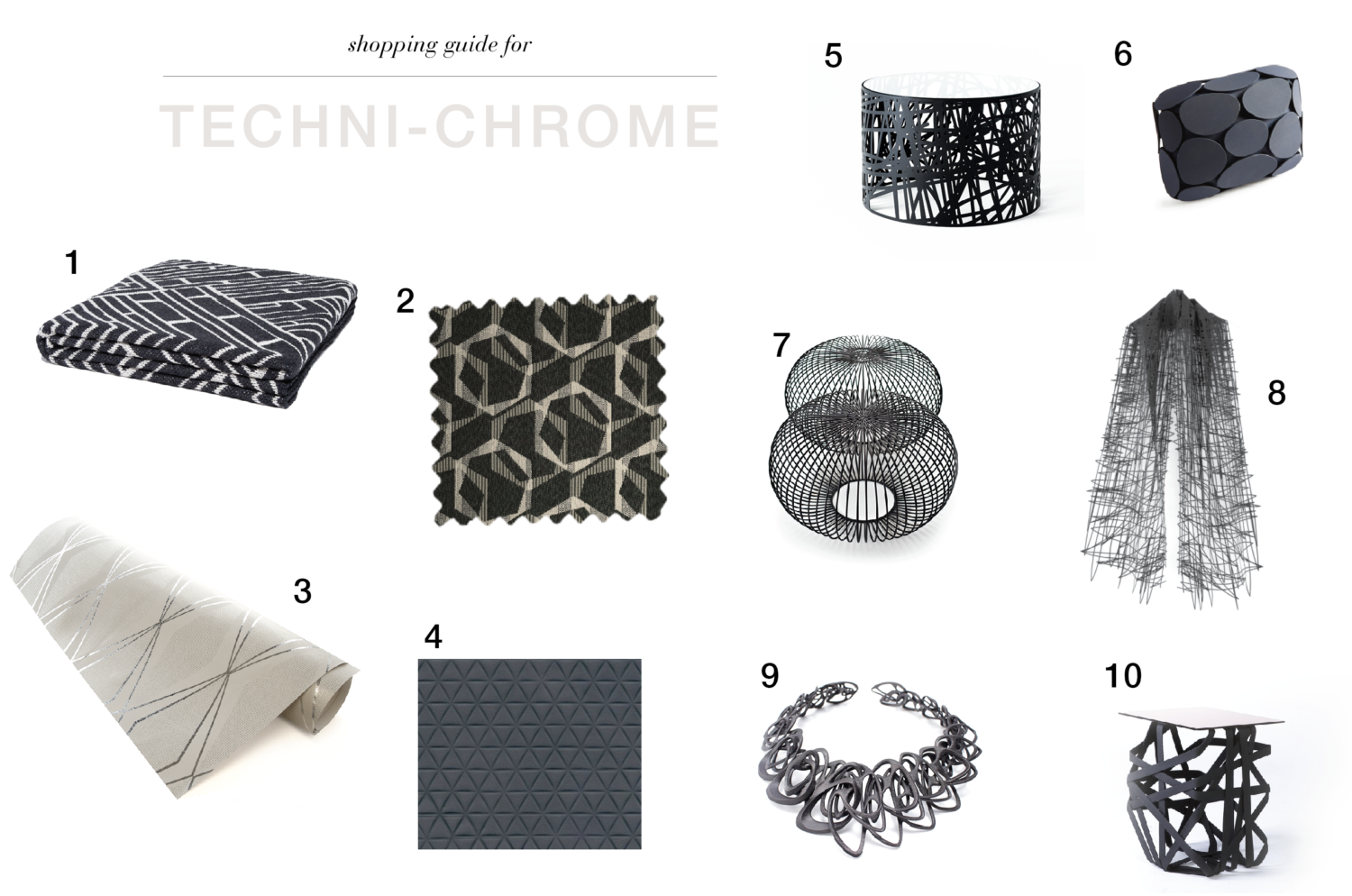 Techni-Chrome Trend Story Products