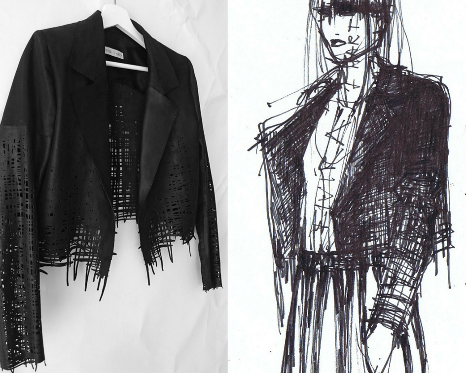 Wearable Drawings Jacket
