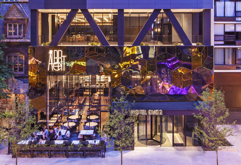 Hotel EMC2 Exterior - Michael Kleinberg Photography