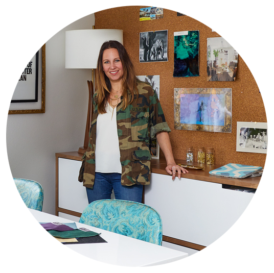Jennifer Fisher - Owner and Lead Designer of J. Fisher Interiors