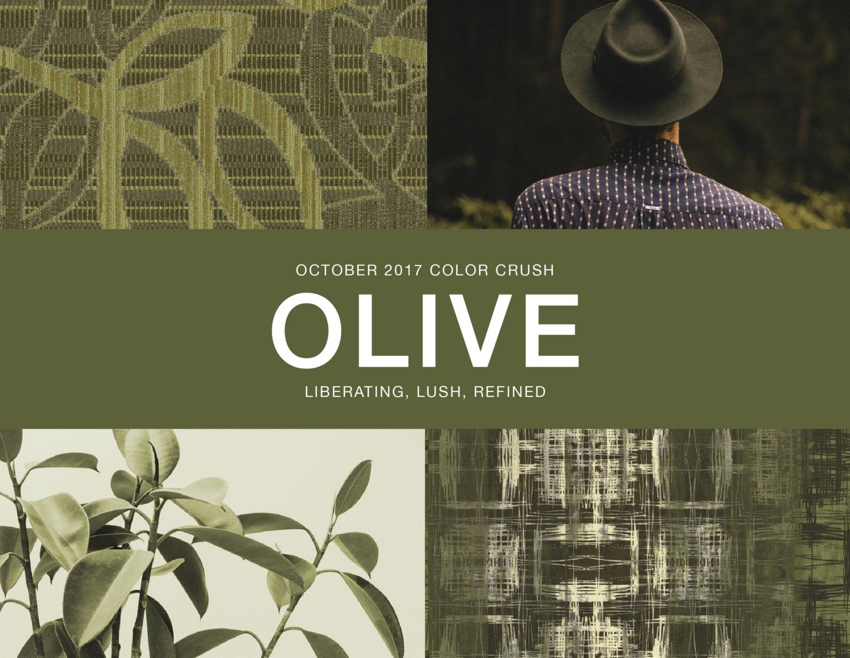 October Color Crush Olive