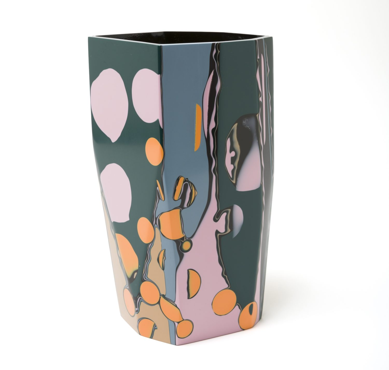 Elyse Graham, Black Magic Collection: Tasmania Vase - Life-Styled.net
