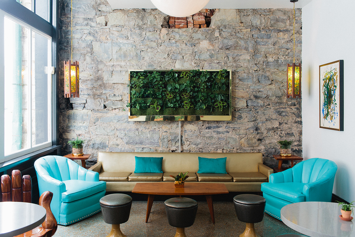 Dwell Hotel, Matilda Midnight Parlor, Photographed by: Graham Yelton - Life-Styled.net